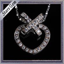 Precio de fábrica hermoso diseño moda corazón forma Jewellry colgante