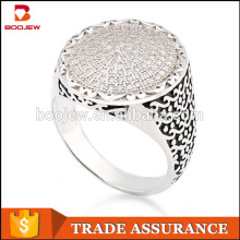 Alibaba cheap fashion jewelry wholesale lots sterling silver rings for men