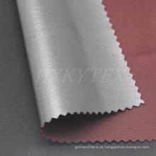 Spandex de sarja de estiramento de 4 vias com tecido de poliéster
