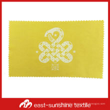 bulk microfiber lens cleaning cloth with silk logo print,microfiber jewelry cleaning cloth