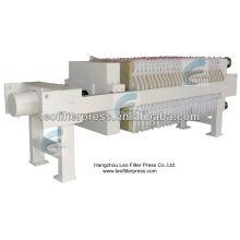 Prensa de filtro de cámara de prensa de filtro Leo, prensa de filtro de placa