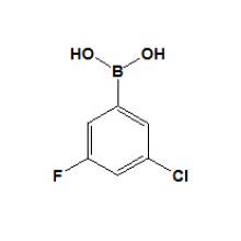 3-Хлор-5-фторфенилбороновой кислоты № 328956-61-2