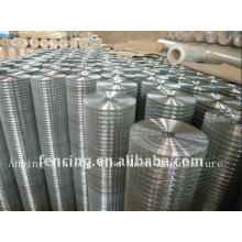 Malla de alambre soldada con cinc plateado (fabricante)