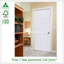 Weiße Farbe MDF Europe Style Holztür