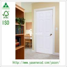 Porte en bois de style européen de MDF de peinture blanche