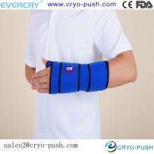 Il suffit de chauffer ou de congeler le sac de gel pratique à l'aide d'un soulagement rapide contre les bosses, les ecchymoses et l'enflure du poignet.