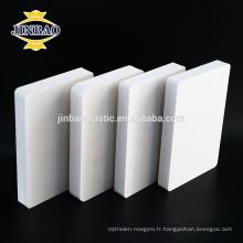 JINBAO prix le plus bas pour 100% matériaux vierges pvc noyau de mousse noire