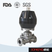 Valve de diaphragme pneumatique de qualité alimentaire en acier inoxydable (JN-DV1005)