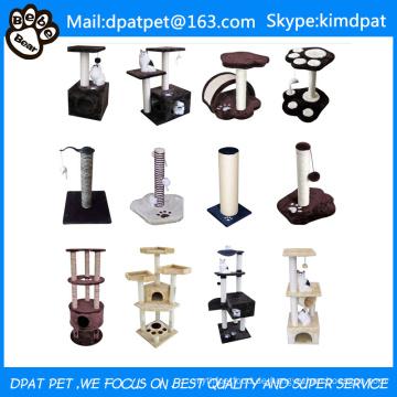 Fabrik-Großverkauf-Haustier-Produkt-Katzenbaum-Verkauf mit Spielwaren