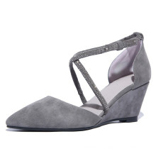 Чэнду завод оптовая последние дизайн женская Клин сандалии