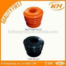 Enchufe de cementación inferior y superior / Enchufe de cemento API / Enchufe de cementación de perforación