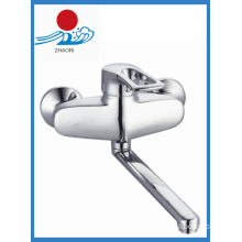 Brass Chrome Kitchen Faucet Single Handle Spring Water Tap Mixer (ZR21103)
