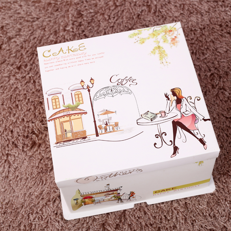 Food Grade Cake Box with Lid