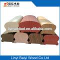 Venta caliente barandilla de roble rojo madera maciza escalera balaustre con precios competitivos