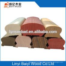 Rampe de chêne rouge Chine fournisseur nouveau style balustre en bois massif d'escalier