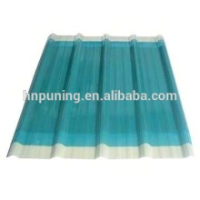 100% virgin bayer/sabic lexan pc corrugated sheet