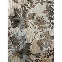 New arrival Modern cicular big flower design Jacquard Curtain