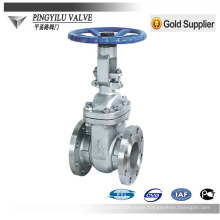 "Standard rising stem flange type carbon steel Class150 4"" oil pipe ansi gate valve"