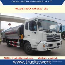 Camion de Transport Dongfeng 4 X 2 15000liters nouvelle asphalte OEM