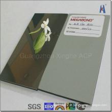 Material de painel composto em alumínio ACP de espelho
