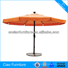 Parapluie extérieur adapté aux besoins du client de luxe de patio de patio de plage de Sun Beach
