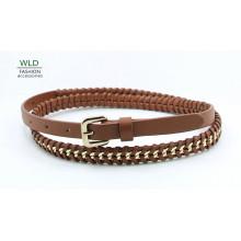 PU Fashion Chain/Jean Belt for Lady (KY5359))