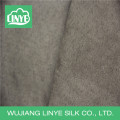 100% polyester microfiber woven suede fabric for shoes