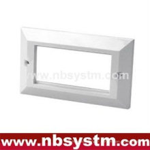 Face Plate 4 port, type UK, taille: 86x146mm