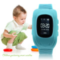 Kids GPS Position Rubber Band Wrist Watch Bracelet