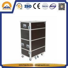 Чемодан для инструментов Алюминиевый чемодан для инструментов с колесами