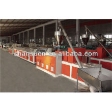 PP PE Wood Plastic Production Line (Plastic and Wood Powder composite)