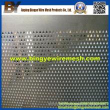 Malla metálica perforada utilizada en falsos techos de Anping