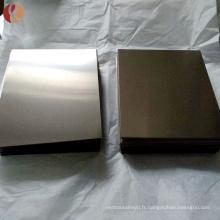 Chine fournisseurs en gros laminé à froid niobium alliage feuille prix par livre