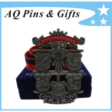 Custom Plate Medal with Ribbon