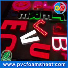 Les panneaux bon marché de haute qualité de cuisine placent la feuille augmentée de PVC de panneau de mousse de PVC