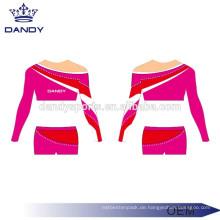 Kundenspezifisches Farben-Streifen-Mädchen-Beifall-Kostüm