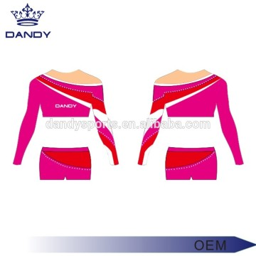 Custom Color Stripes Girls Cheer Costume