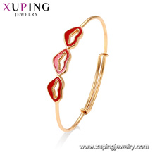 52028 помады Xuping ювелирные изделия мода простой дизайн золото браслет