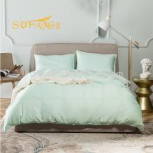 Alibaba en gros ensemble de literie en bambou de cuivre, linge de lit d'hôtel
