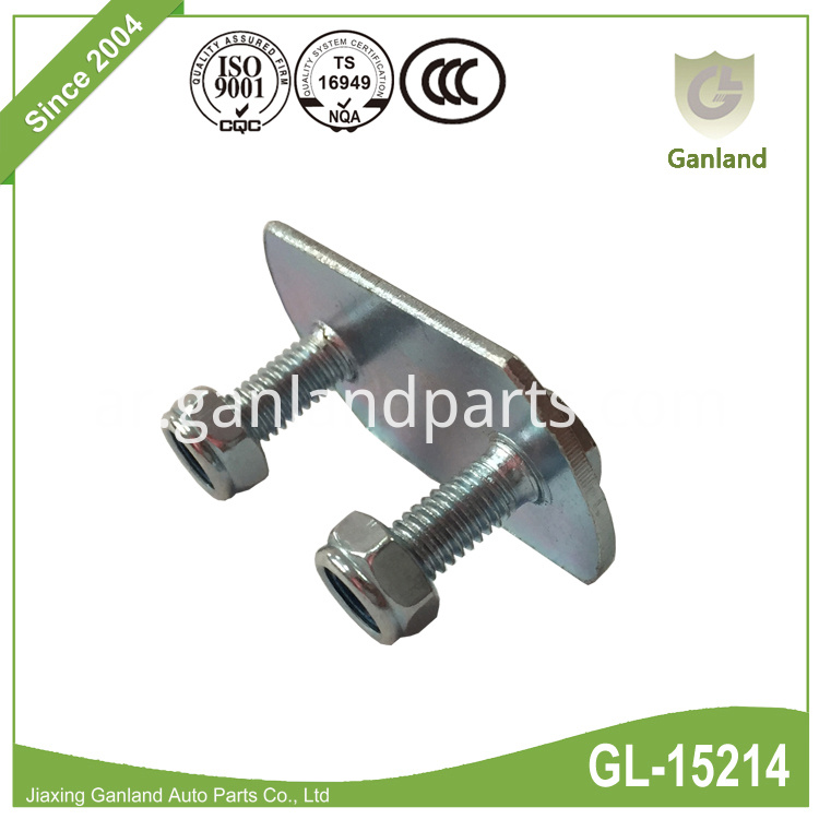 Steel Two Bolts Plate GL-15214