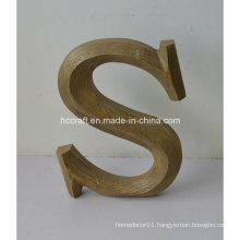 Wooden Craft Letter Used for Home Decoration