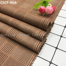 Print and Golden-Plating  Suede Fabric Escf-06A