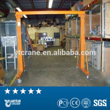 A fream single girder mobile gantry crane for sale