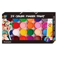 Bestes Geschenk Nicht toxische Fingerfarbe für Kinder, Eco-Qualität Fingerfarbe