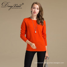 Wholesales Best Price Round Neck Mongolian Wool Cashmere Sweater With Professioanl Designer Team