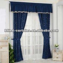 Generous grace jacquard curtain