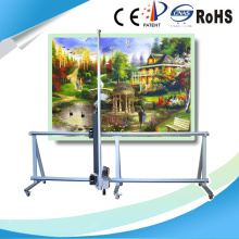 White building wall painting machine