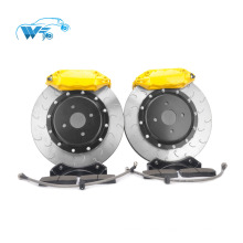Yellow Universal Lightweight modified brake calipers for Toyota Prado F40 big four-pistons brake kit
