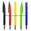 Company Logo Printed Promotional Plastic Pen with Exclusive Clip (LT-C709)