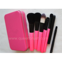 7PCS Nylon Hair Makeup Brush Set with Case